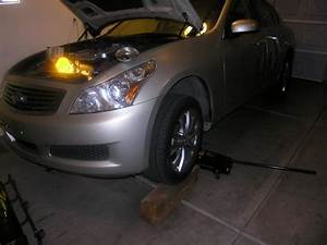 Replacing The Serpentine Belt On A 2007  Infiniti G35 And