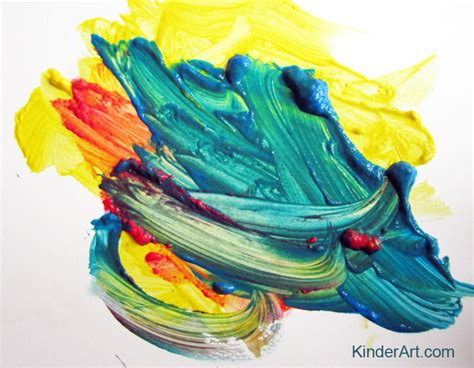 colors for painting mouse painting color mixing kinderart