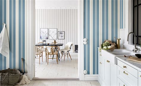 10 Striped Wallpaper Design Ideas  Bright Bazaar By Will