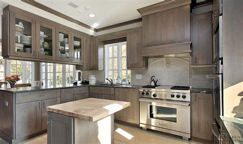 grey stained kitchen cabinets kitchen design ideas prasada kitchens and cabinetry 4090