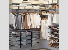 Platinum elfa WalkIn Closet The Container Store