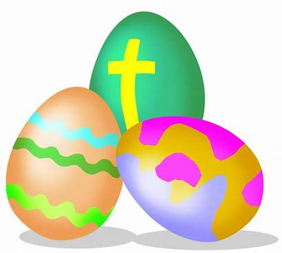 Easter Clipart Cross Eggs Transparent Holy Clip