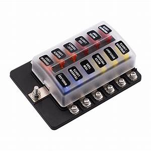 Dropshipping For 12 Way 12v 24v Blade Fuse Box Holder With