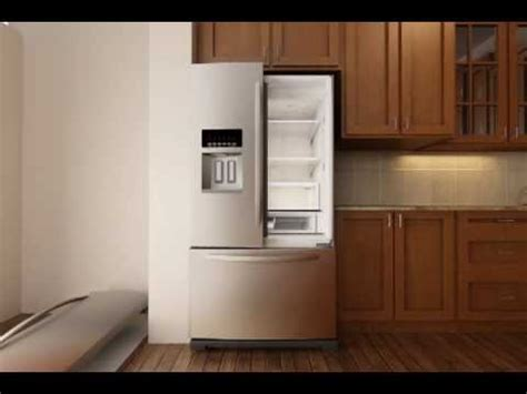 removing  doors   french door refrigerator  exterior dispenser ice bin  door youtube