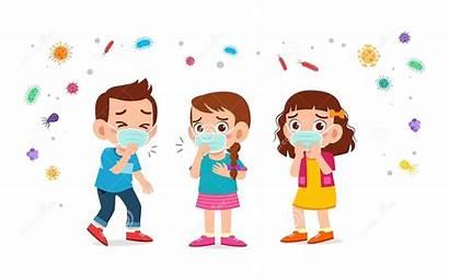 Cartoon Corona Cartoons Scavenger Children Virus Sick