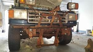 Getting A Plow On Her - 80-96 Ford Bronco