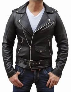 Veste En Cuir Rouge Homme : veste cuir noir homme les vestes la mode sont populaires partout dans le monde ~ Melissatoandfro.com Idées de Décoration