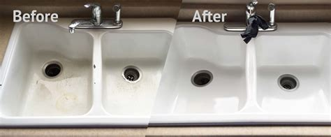 We Refinish Sinks Made Of Porcelain, Cultured Marble, And
