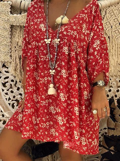 justfashionnow  size women fall dress swing daily
