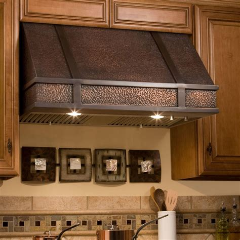 rustic brass shelf 30 quot limoges series copper wall mount range kitchen