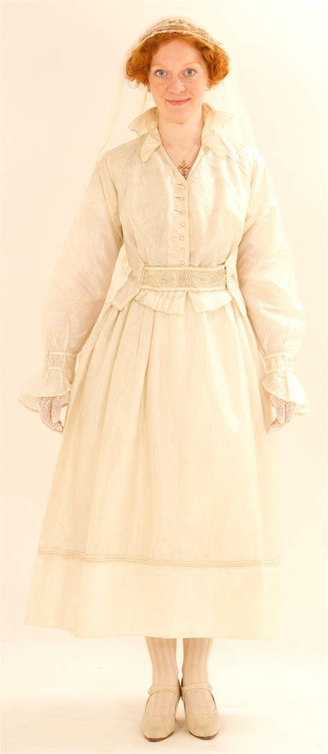 ww wedding dress   silk taffeta  cording