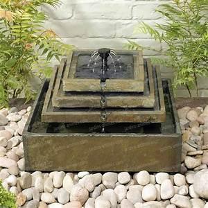 fontaine exterieur affordable bac fontaine exterieur With fontaine a eau exterieur solaire