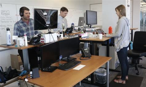 doctors note for standing desk standing desks sit well with more employees images frompo