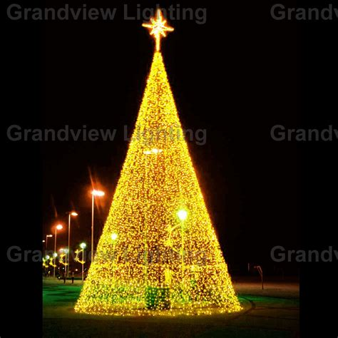 outdoor colorful large led decoration tree light