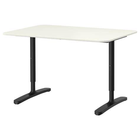 ikea black and white desk bekant desk white black 120x80 cm ikea