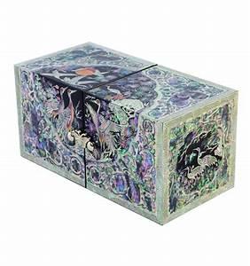 Boite A Bijoux Originale : boites bijoux luxe fantaisie asiatique en nacre ~ Teatrodelosmanantiales.com Idées de Décoration
