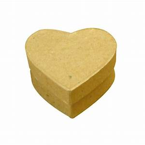 Boite En Carton À Décorer : boites carton c ur gm x10 tout creer ~ Melissatoandfro.com Idées de Décoration