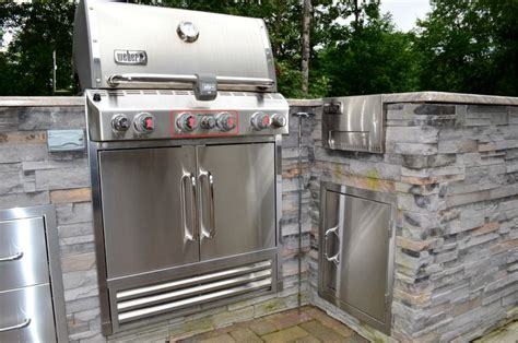 veneer for outdoor kitchen www sharpercut com white plains md outdoor kitchen cultured stone veneer built in grill