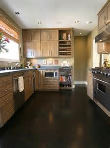 kitchen cabinets with dark floors ideas home design
