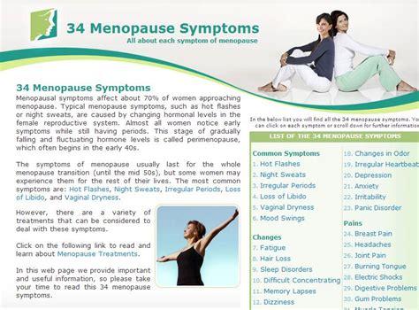 34 Menopause Symptoms: A Favorite Website - talkhealth ...