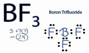 Bf3 Lewis Structure  How To Draw The Lewis Structure For