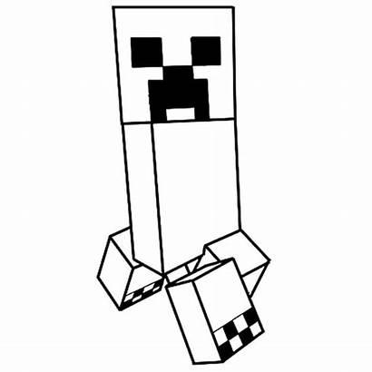 Minecraft Dessin Colorier Coloriage Creeper Coloring Imprimer