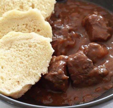 recette de cuisine allemande recette goulash tcheque au boeuf de la cuisine tchèque