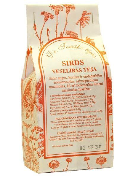 Veselības tēja
