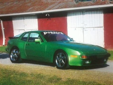 porsche custom paint find used one of a kind 1984 porsche 944 5 speed custom