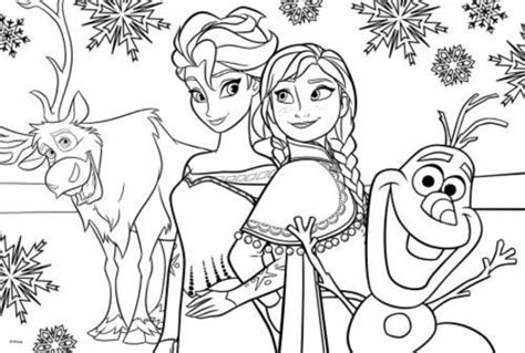 Get This Printable Frozen Coloring Pages Online 638595