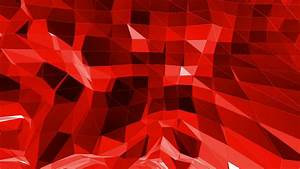 Abstract red low poly surface as dream background in ...