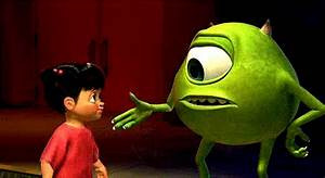 gif love cute adorable disney movie friends monsters inc ...