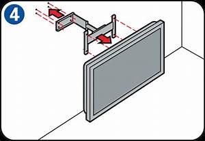 Tv An Wand Anbringen : flachbildfernseher an der wand anbringen ~ Markanthonyermac.com Haus und Dekorationen