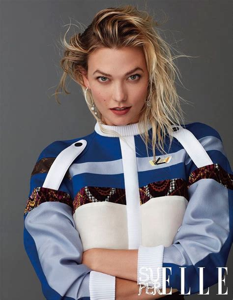 Karlie Kloss Superelle China Cover Sporty
