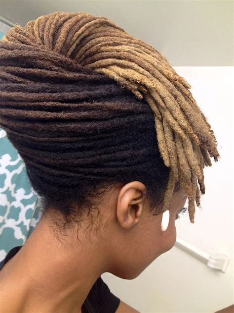 The dreads on top can then be left messy, pulled back, tied up, or styled any way you want. Dreadlock Styles for Ladies with Pictures Tuko.co.ke