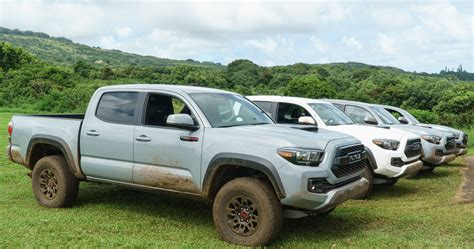 road  hawaii    toyota tacoma trd pro