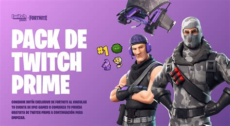 consigue gratis botin exclusivo de fortnite  twitch prime
