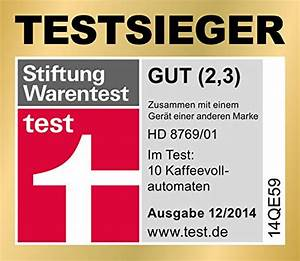 Matratzen Stiftung Warentest Testsieger : saeco hd8769 moltio test ~ Bigdaddyawards.com Haus und Dekorationen