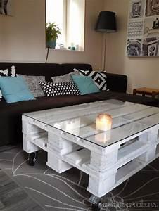Table Basse Palettes : notre nouvelle table basse en palettes tables ~ Melissatoandfro.com Idées de Décoration