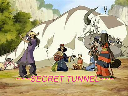 Tunnel Secret Avatar Atla Aang Airbender Last
