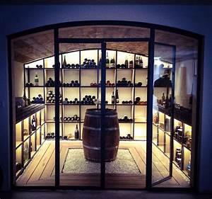 Cave À Vin Design : cave vin m tal bois de design ~ Voncanada.com Idées de Décoration