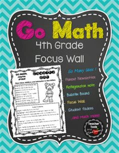 1000+ Ideas About Math Focus Walls On Pinterest  Focus Walls, Envision Math And Math