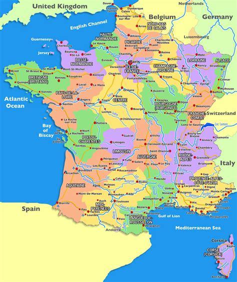 map  france cities recana masana