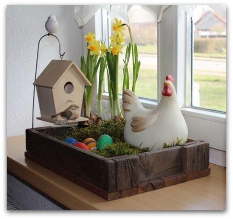 Osterdeko Für Fenster by Diy Oster Dekoration F 252 R Haus Balkon Und Garten An