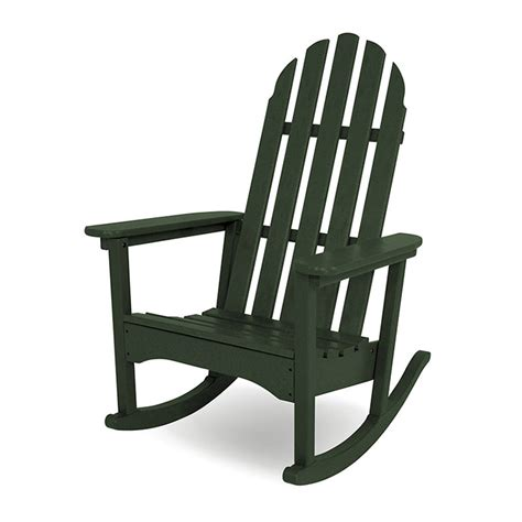 adirondack rocking chair polywood recycled plastic