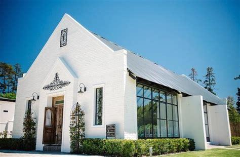 romantic wedding chapels   winelands