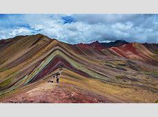 La montaña más colorida de Perú