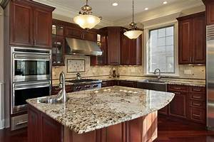 Bold, Kitchen, Ideas, With, Granite