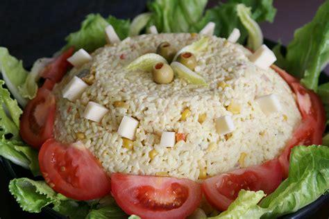 recette de cuisine froide recette salade de riz froide au thon recettes maroc