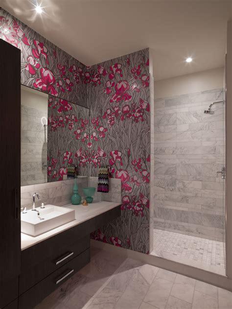 wallpaper bathroom designs wallpaper in bathroom